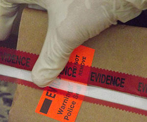 Forensic evidence tape