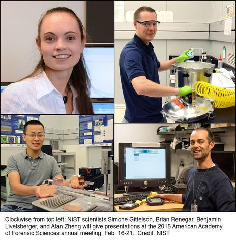 NIST scientists to present at AAFS 2015