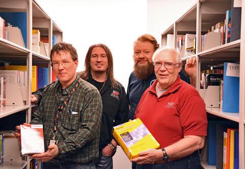 Rick Ayers, Jim Lyle, John Tebbutt and Doug White