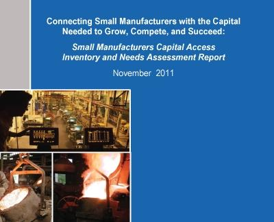 Capital Access Report cover page