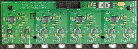 Photo of the Microboard Version 1