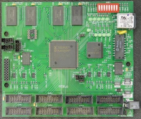 Photo of the Motherboard