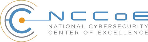 Logo of the National Cybersecurity Center of Excellence