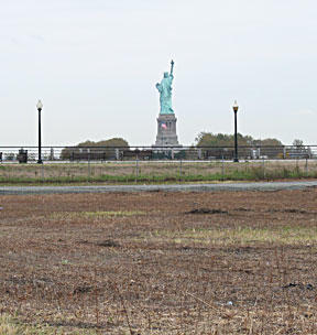 Statute of Liberty from Hudson County, NJ