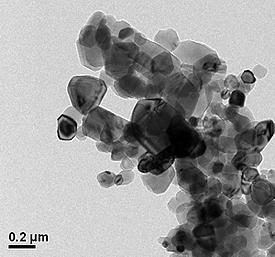Transmission Electron Micrograph for SRM 1877 -- Beryllium Oxide Powder