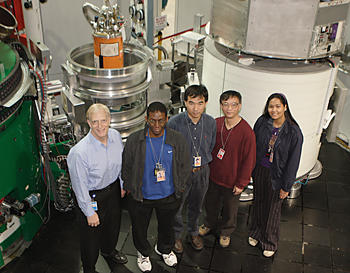 NCNR iron-based superconductor team