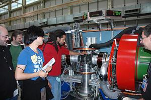 summer students at NIST explore the NCNR