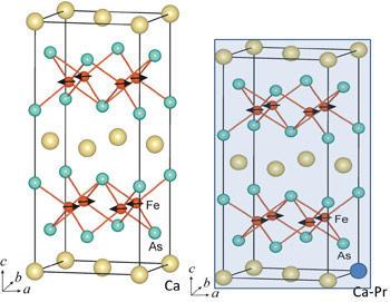 Superconducting iron-based crystals