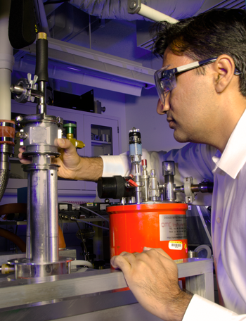 PML scientist Zeeshan Ahmed