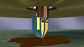 Electron spin resonance illustration