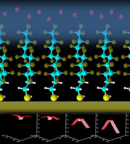 Illustration of bias voltage