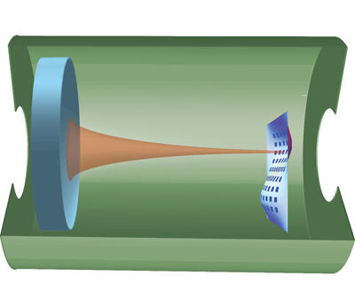 Schematic diagram of the optical cavity.