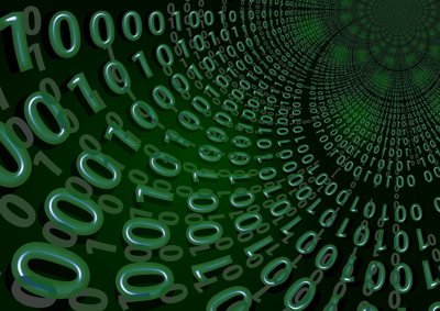 binary code artist's conception