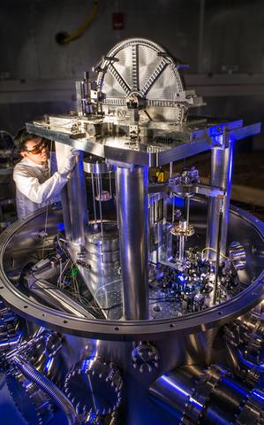 NIST-4 watt balance under construction