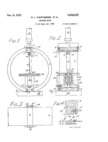 patent for proving ring