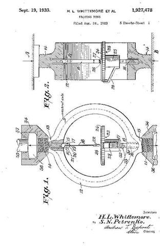 Second patent for proving ring