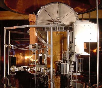 The NIST-3 watt balance.