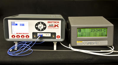 Image showing a more sophisticated thermometer and display