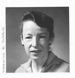 Katharine Gebbie in 1966