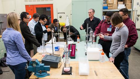 temperature measurement laboratory class