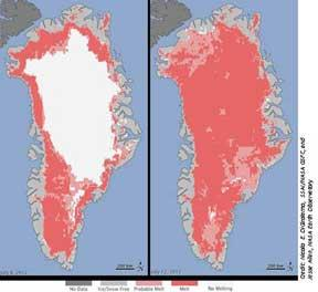changes in polar ice