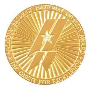 Baldrige medallion