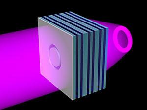 uv light projection