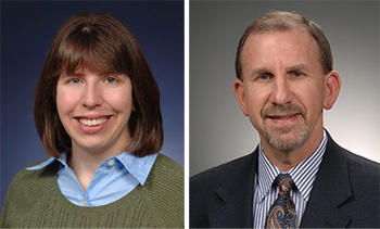 NIST Physicist Gretchen K. Campbell and NIST Computer Scientist Ron Ross