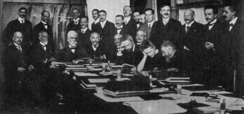 First Solvay Conference in 1911