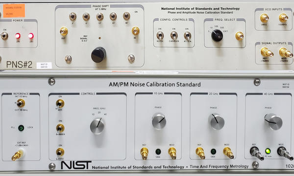 Image of AM/PM Noise Calibration Standard device made by NIST