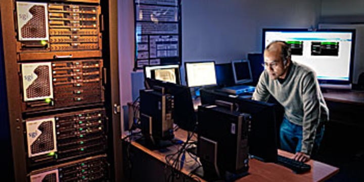 Computer scientist Murugiah Souppaya investigates security techniques for protecting virtuallized computing environments and cloud computing systems.