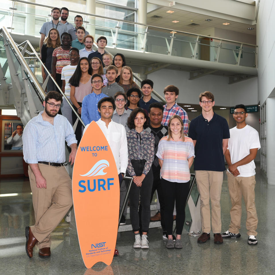 2019 PML SURF students
