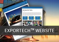 exportech website thumbnail