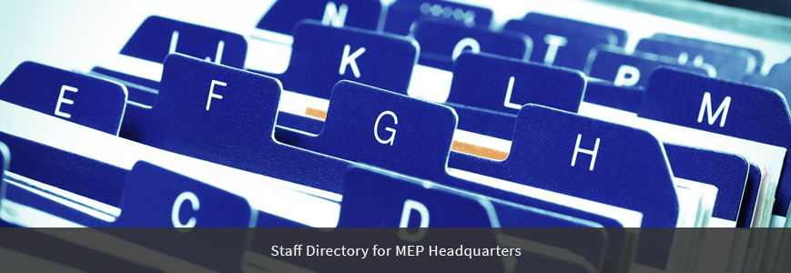 Staff Directory Page Header Image