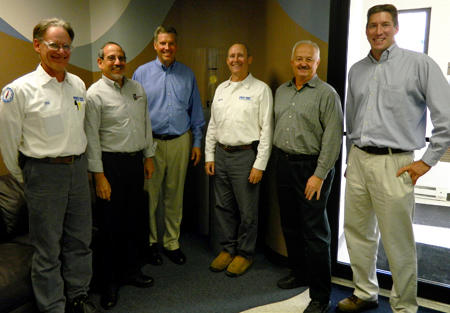 NIST and PRO-TEC Officials at the Pro-Tec Manufacturing Facility in Leipsic, Ohio
