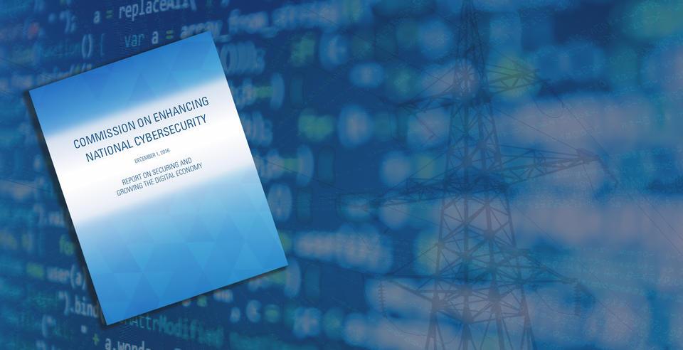 Cybersecurity Commision Overlay Hero Image