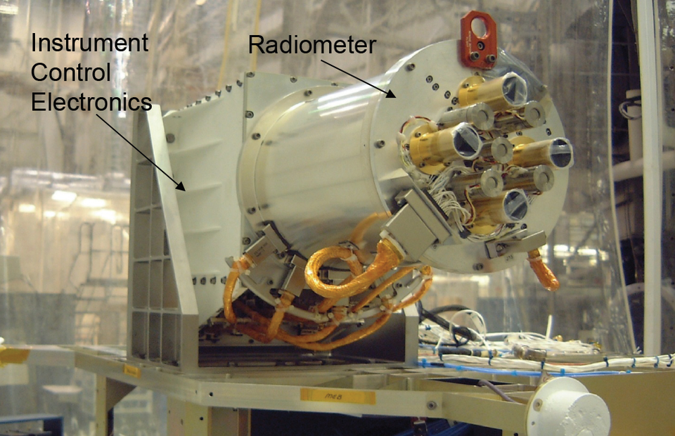 photo of the DSCOVR Mission's NISTAR—the  NIST Advanced Radiometer