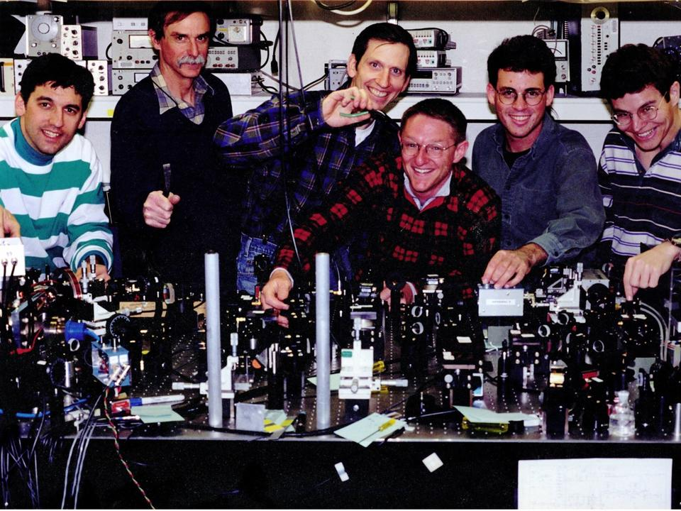 NIST Ion Storage Group in 1996
