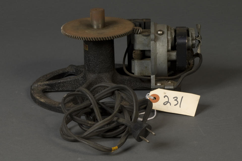geared mechanism