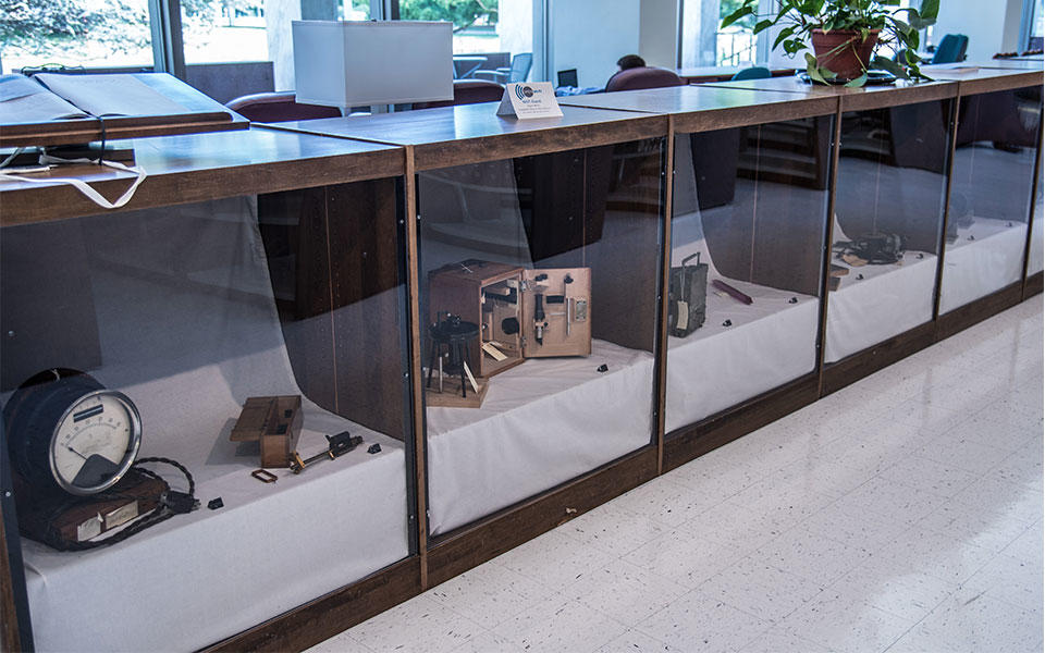 mystery objects at NIST museum