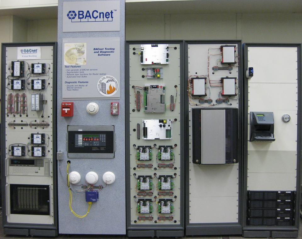 Image of the Virtual Cybernetic Building Test Bed