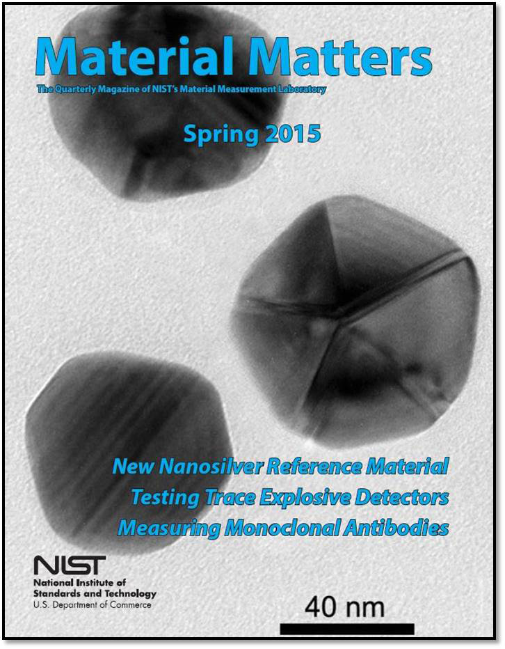 NIST Material Matters Spring 2015