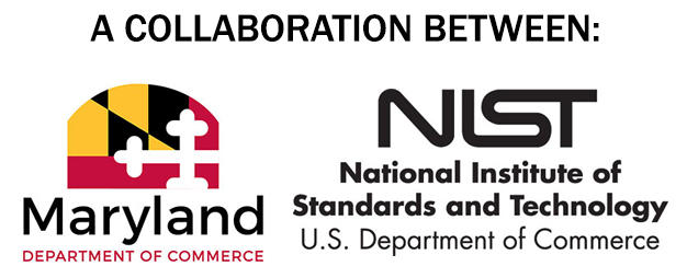 Collaboration image showing Maryland and NIST logo