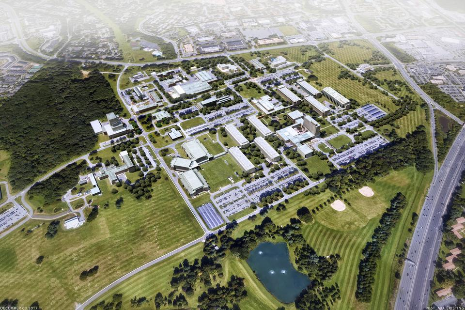 Gaithersburg Master Plan - Existing Aerial View