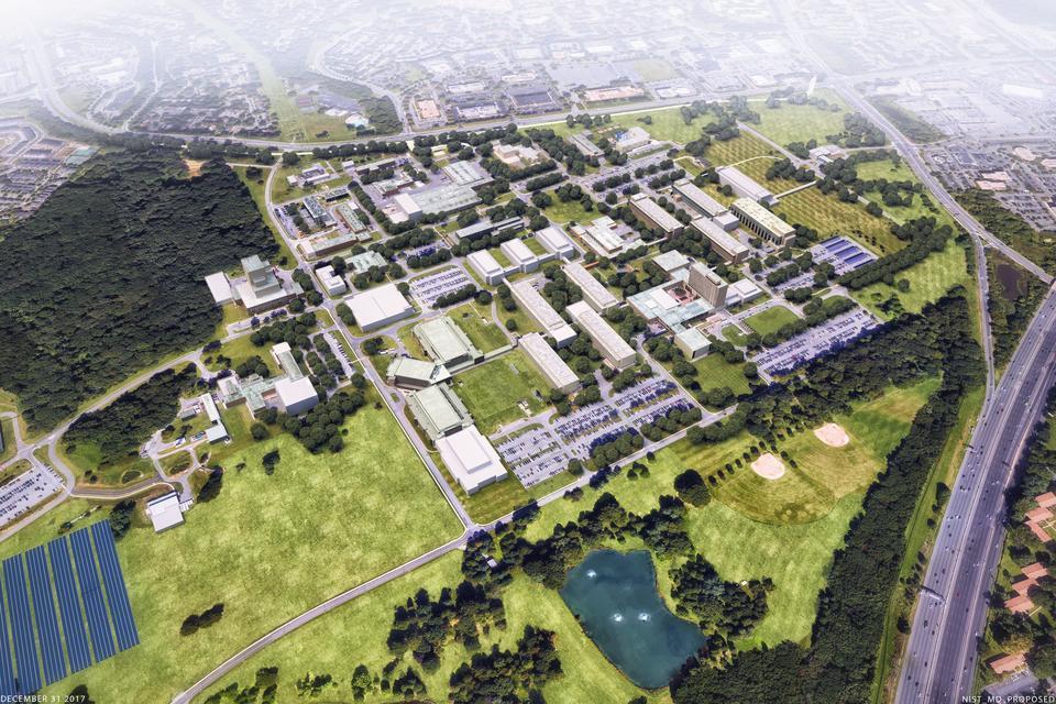 Gaithersburg Master Plan - Proposed Aerial View