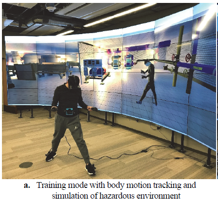 Texas A&M Body Motion Tracking