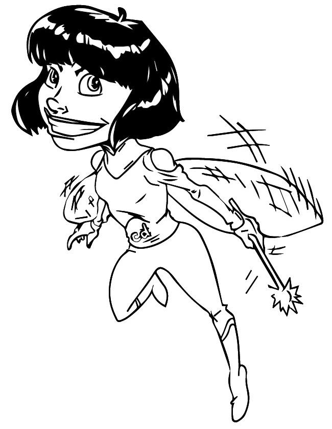 Superhero Coloring Pages | NIST