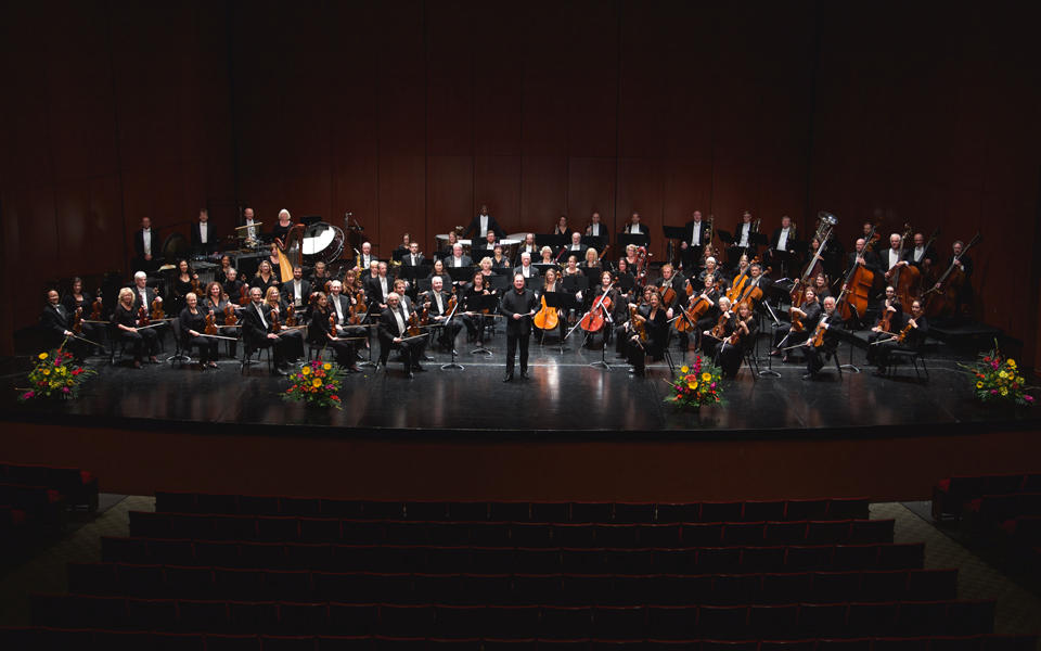 Photo of the New Mexico Philharmonic Orchestra.