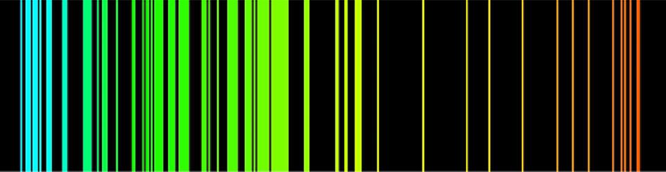 iron spectrum