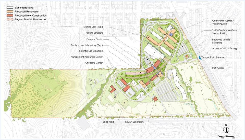 Boulder Campus Illustrative Plan